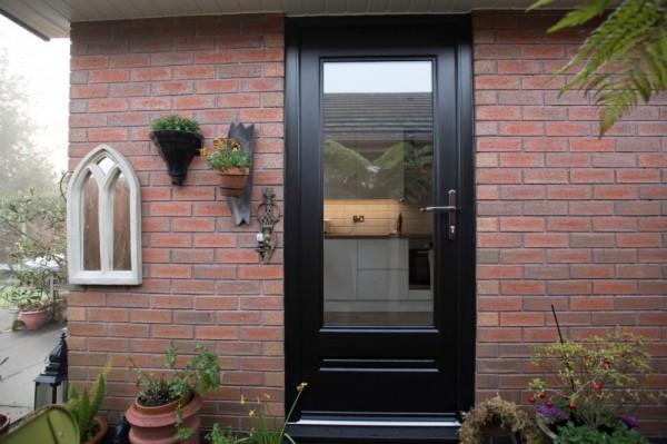 black Rock door