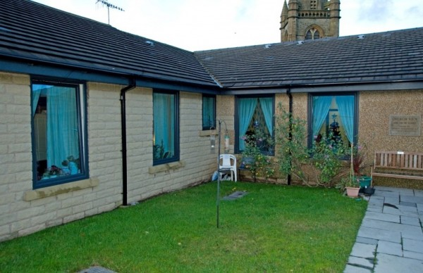 Anthracite grey UPVC Windows,Composite Doors (Nursing Home)