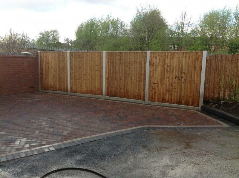 Finished Fencing Installation