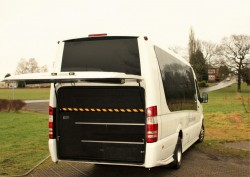 Mercedes 19 Seater Luggage Space