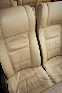 49 Seater Volvo Coach Interior view Full Leather