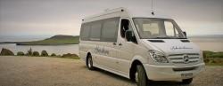 shawburn mercedes coach at FlodigarryHotel on the Isle of Skye