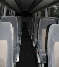 52 Seater Volvo Coach Interior View