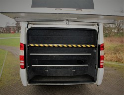 Mercedes Sprinter 19 Seater Luggage Space