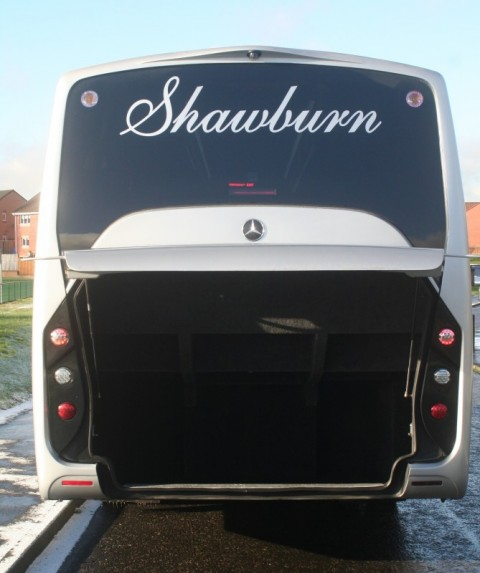 rear of coach with boot view