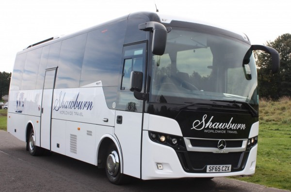 mercedes 35 seater coach