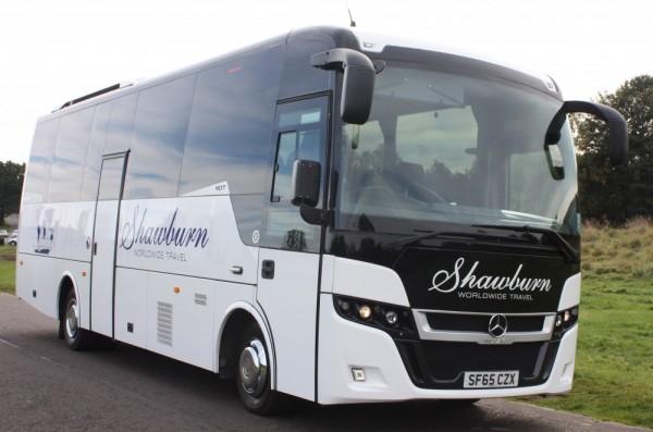mercedes 35 seater coach