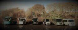 Our Fleet with some of our drivers