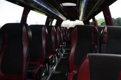 29 Seater Mercedes Vario Interior view