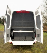 Mercedes Sprinter 16 Seater Luggage Space