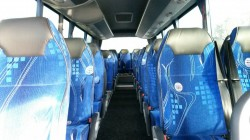 Luxury 35 Seater Mercedes Interior
