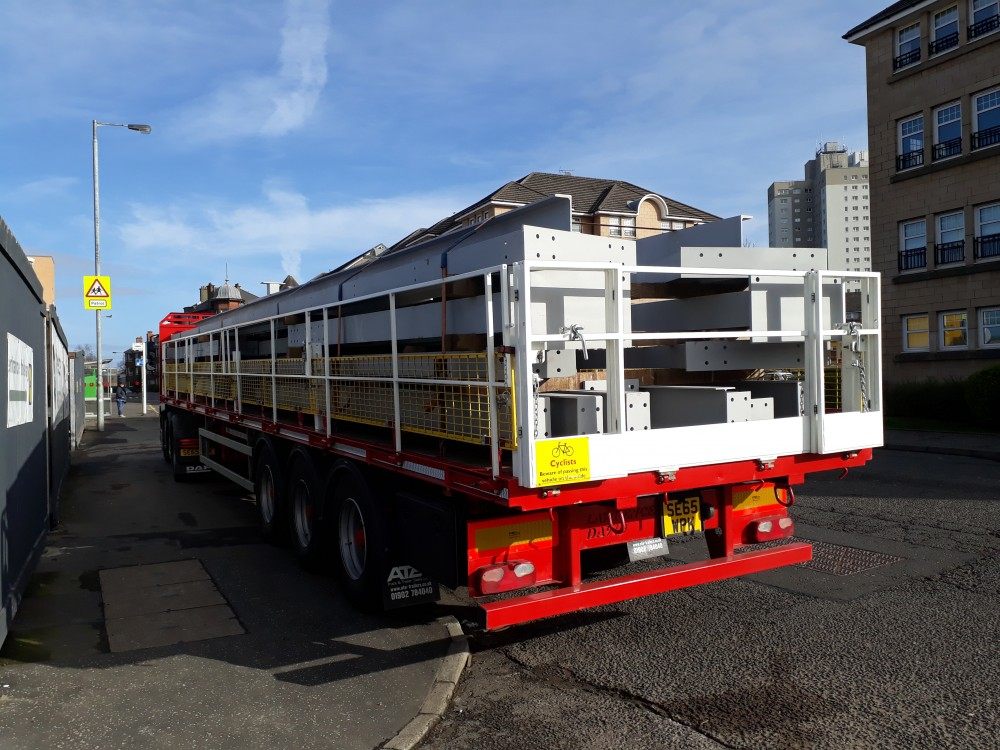 Trailer Safety System - Arrival on site