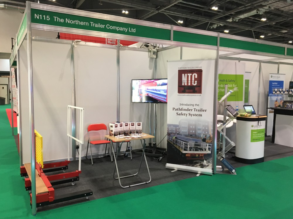 NTC at this years Safety & Health Expo - Stand N115