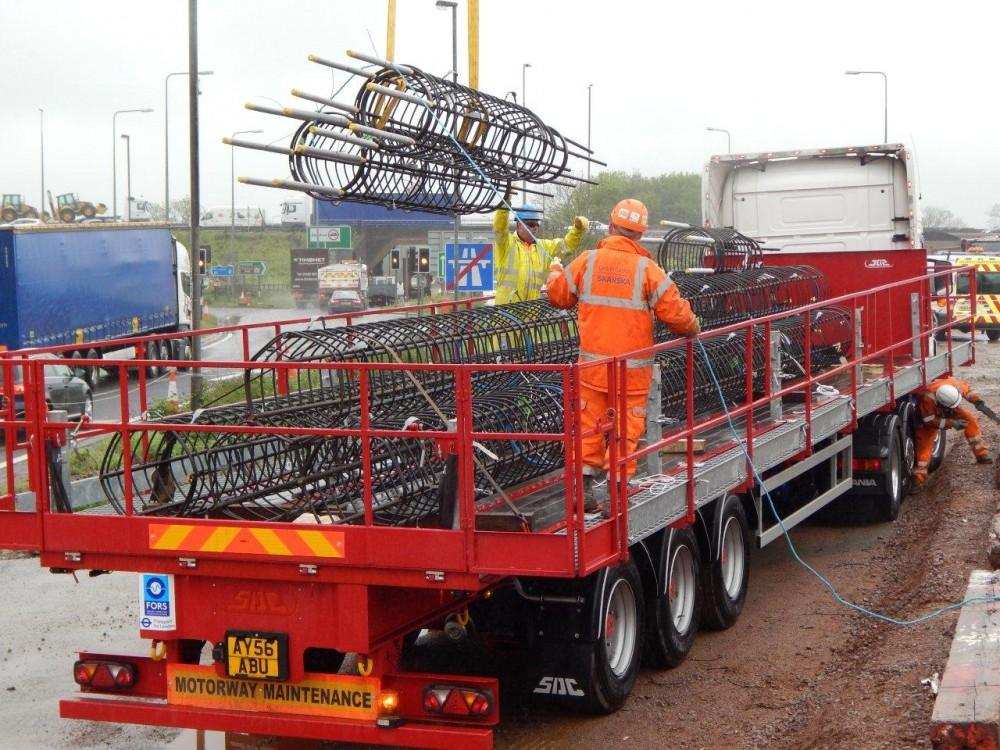 Trailer Safety System - Crane offloading