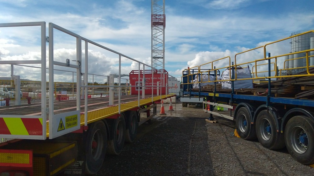 NTC Safety Trailer visits Hinkley Point