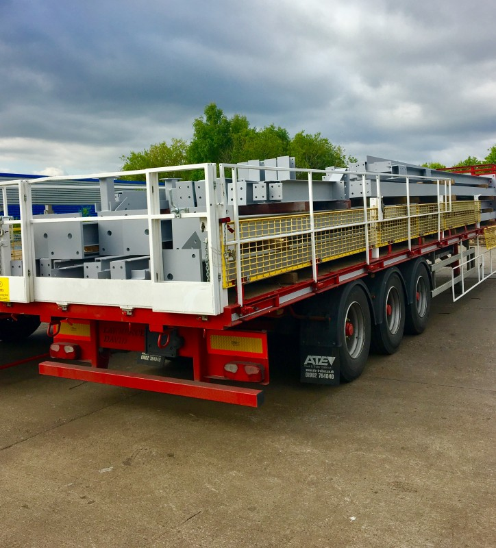 Flatbed Vehicle Safety Trailer