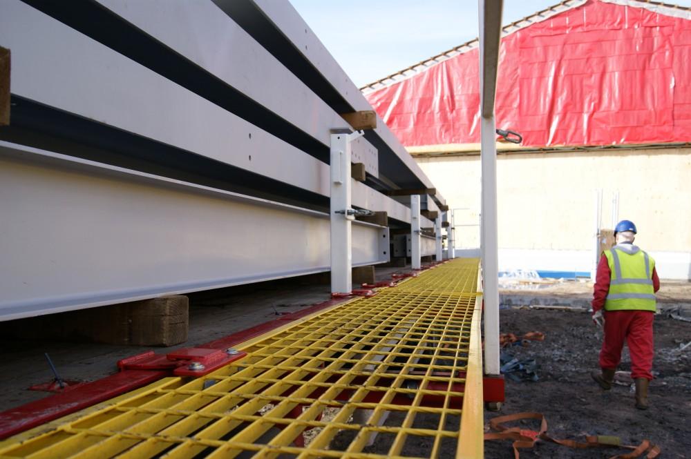 Trailer Safety System - Walkway Deployment
