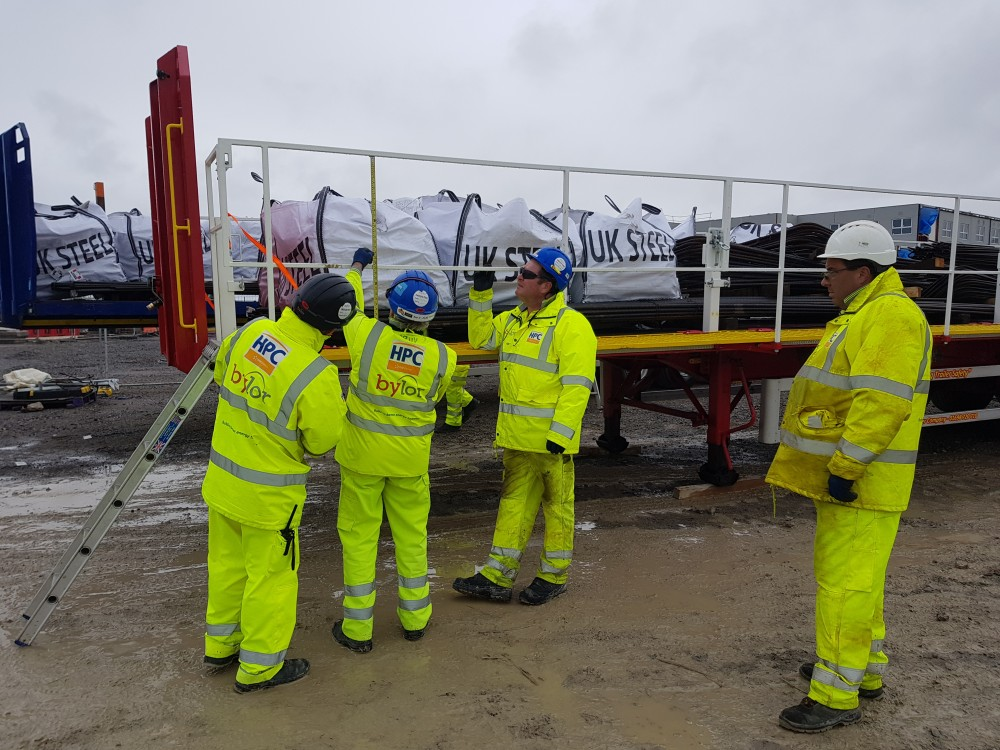 Safety Trailer visits Hinkley Point