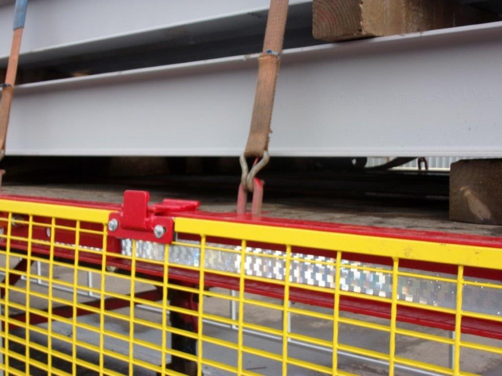 Safety Trailer Fork Lift Access