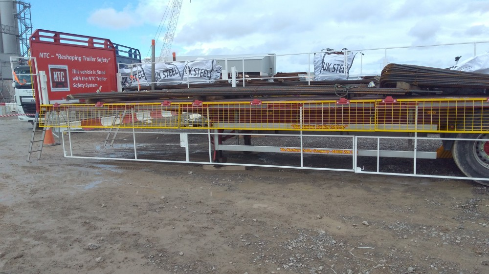 Trailer Safety System at Hinkley Point