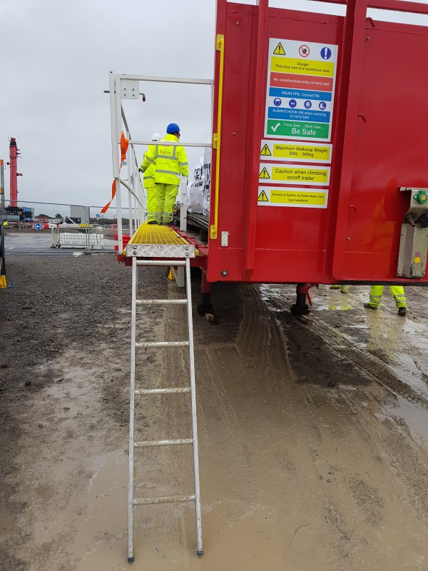 NTC Trailer Safety System at Hinkley Point
