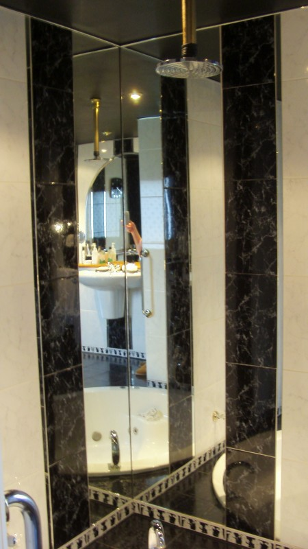 Shower Corner Mirrors