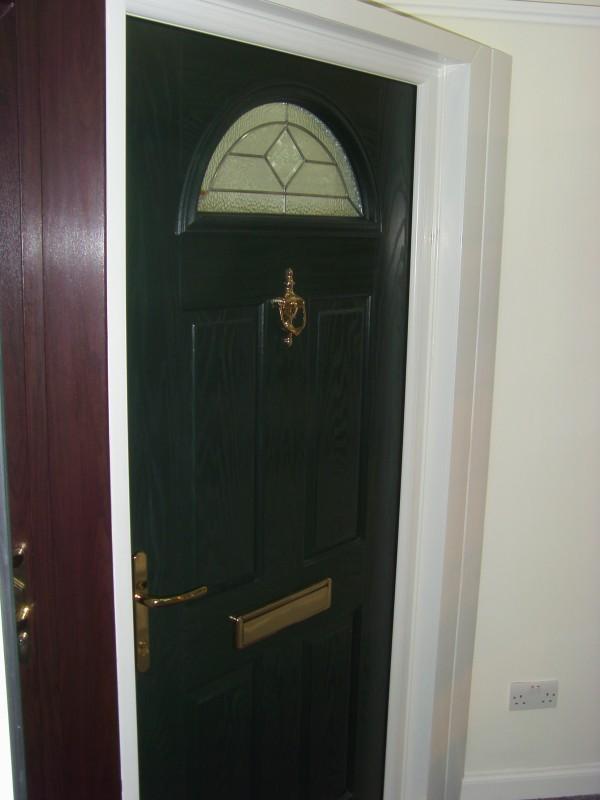 Composite Door with arch