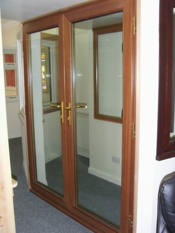 French Doors Hardwood