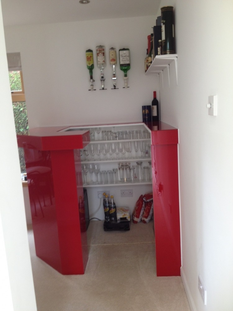 Inside the Red Bar