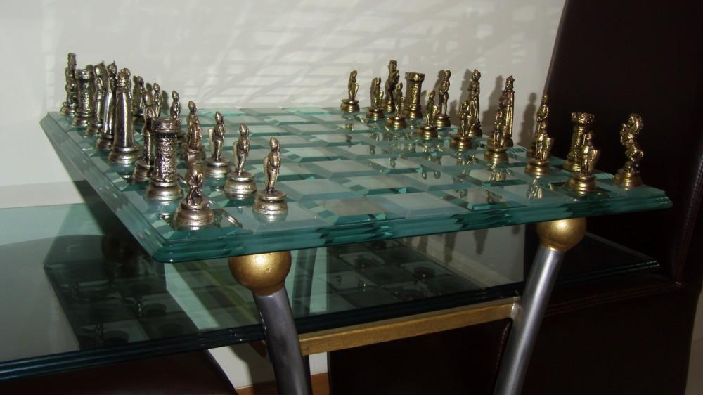 Glass Chess Bespoke Top