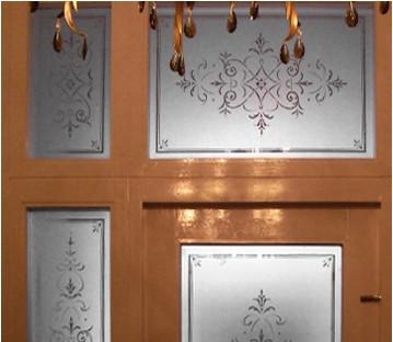 Fanlight, Sidelights and Door