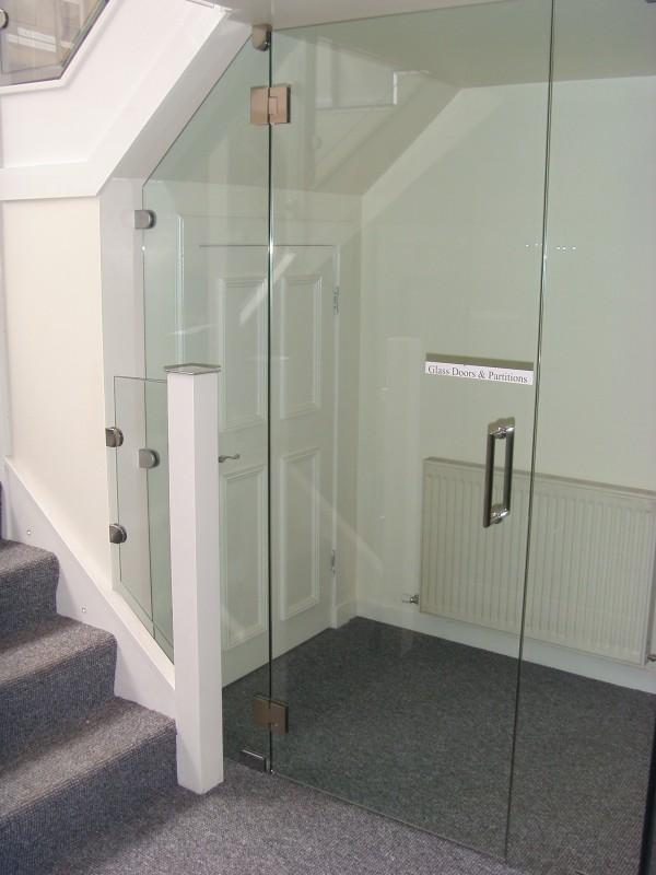 Glass Door Showroom
