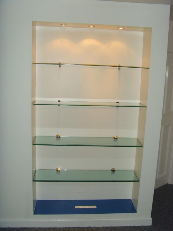 Glass Shelves & Brackets