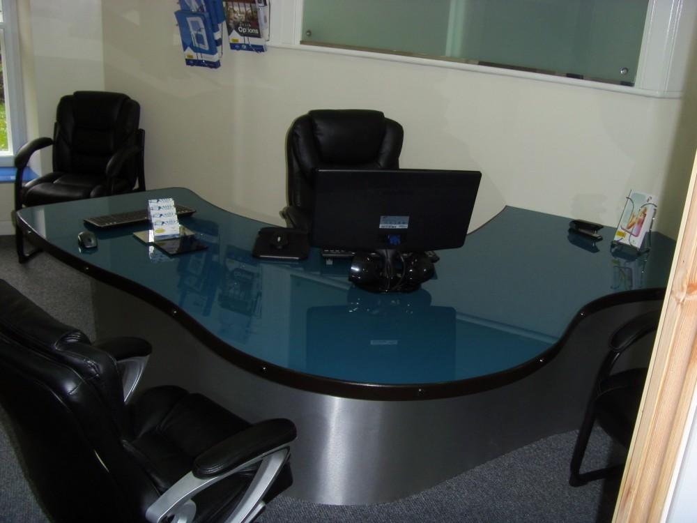 Glass Desk Top