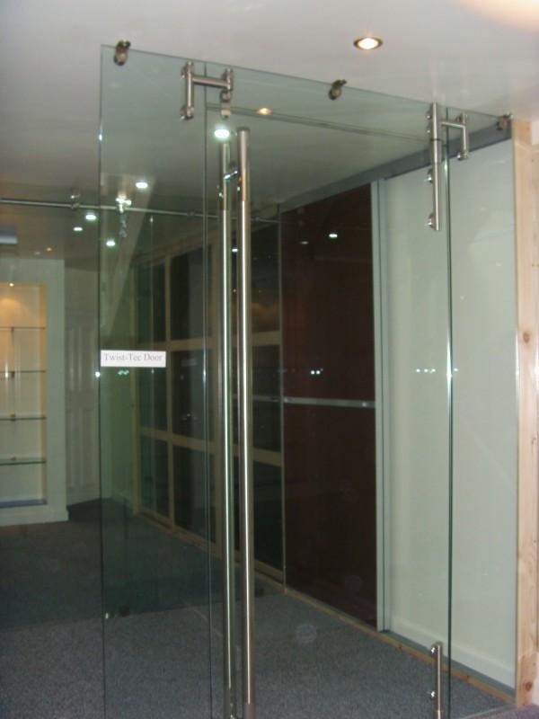 High Tech Glass Doors