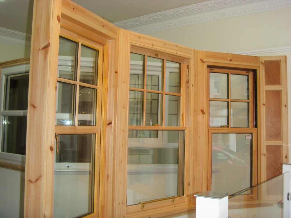 Sash Windows Edinburgh & Casement Timber Windows Showroom