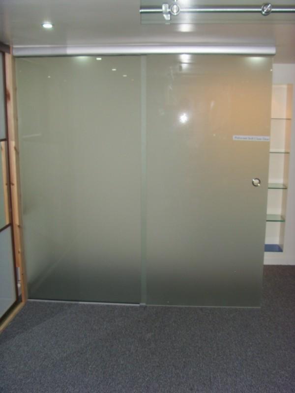 Sliding Satin Soft Close Doors Showroom