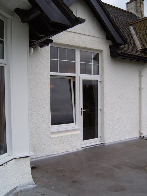 Golf Club door and window