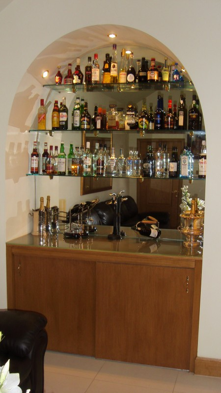 Bar Mirror Arched