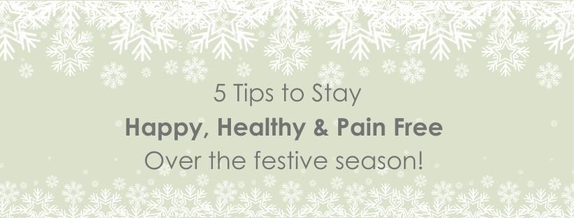 Have a Happy, Healthy December!