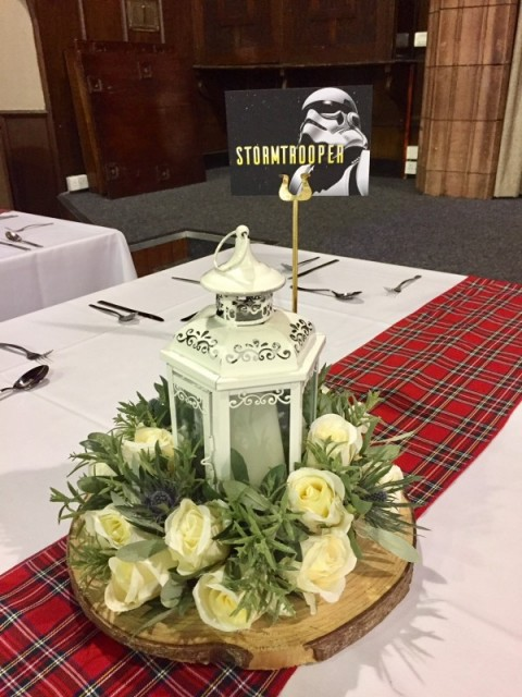Scottish centrepiece ideas