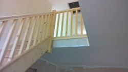 NEW STAIRCASE HAMBLETON, OVER WYRE