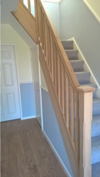 STAIRCASE REFURBISHMENT COTTAM, PRESTON
