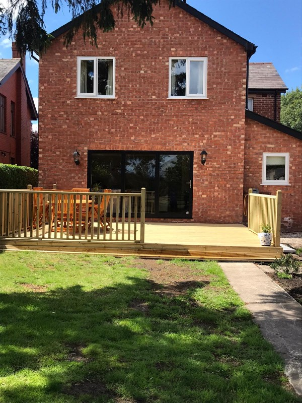 Two storey extension and complete internal reconfiguration/ refurbishment- Leyland