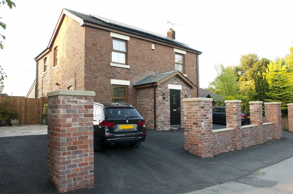 Two storey and single storey rear extension and complete internal refurbishment- Leyland