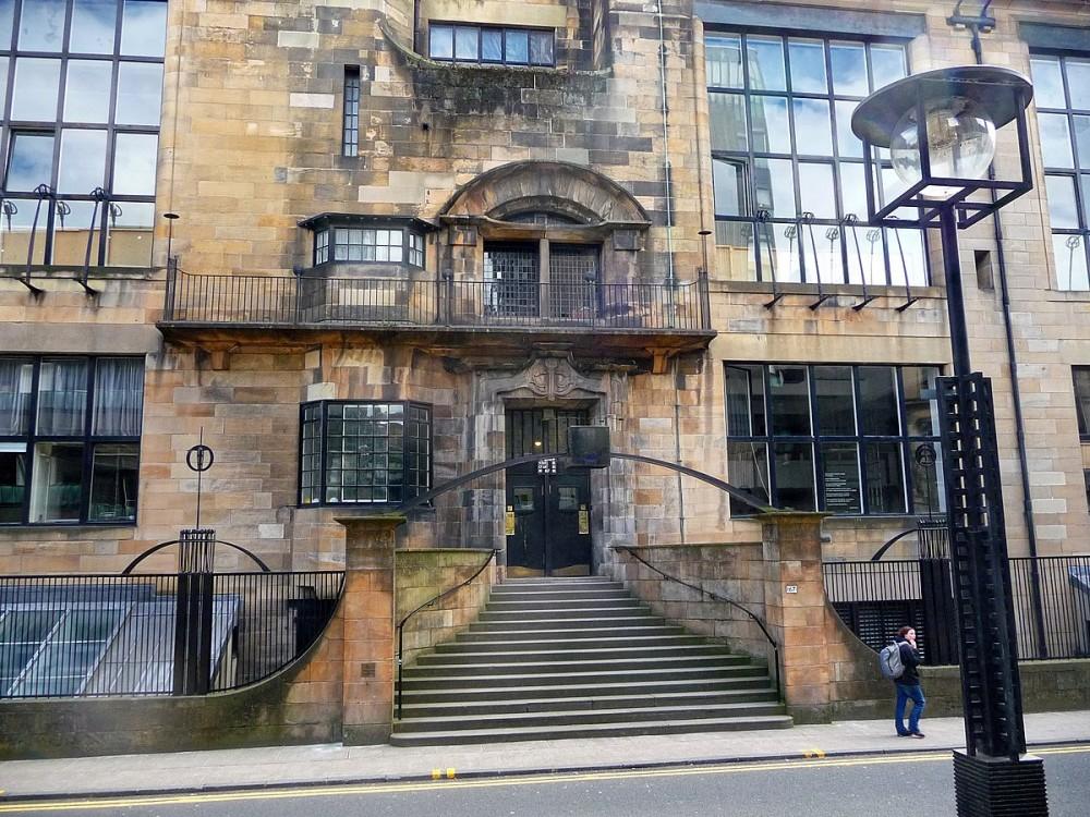 GSoA - Mackintosh Building, Glasgow.