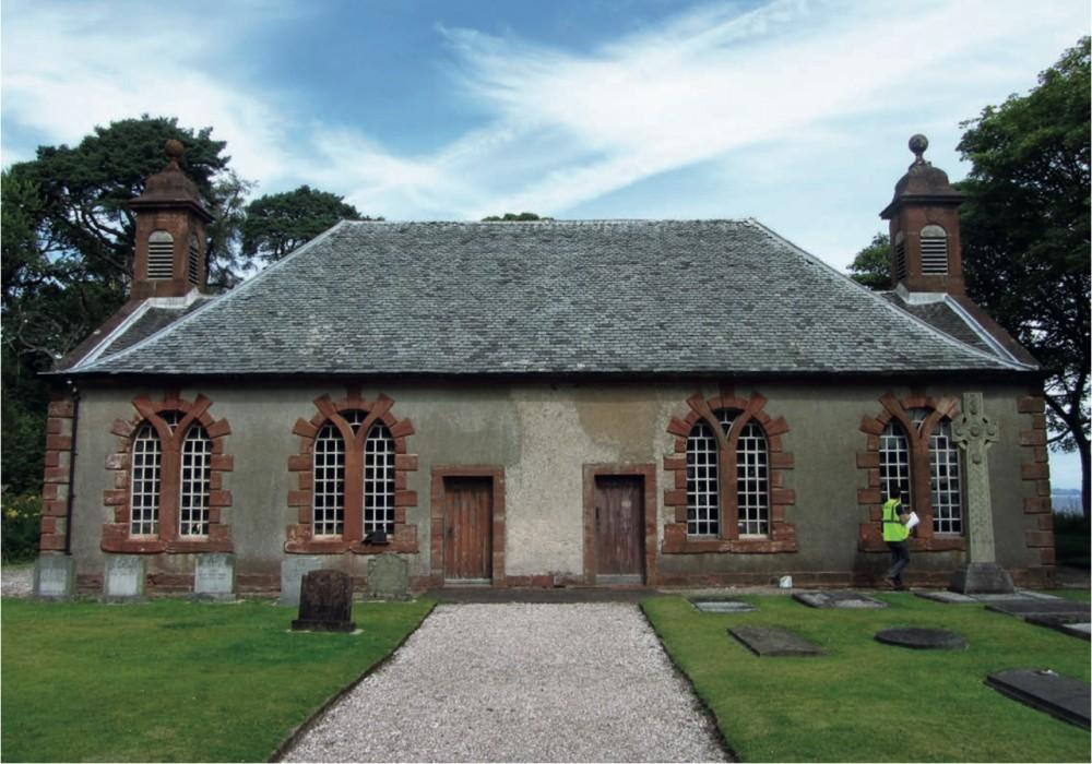 Shore Chapel, Isle of Bute.