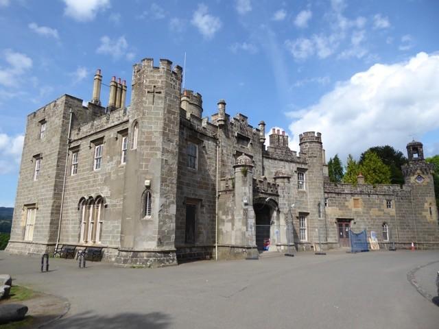 Balloch Castle,                      Loch Lomond.