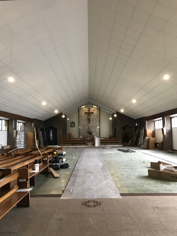 St Bartholomews Church Suspended Ceiling