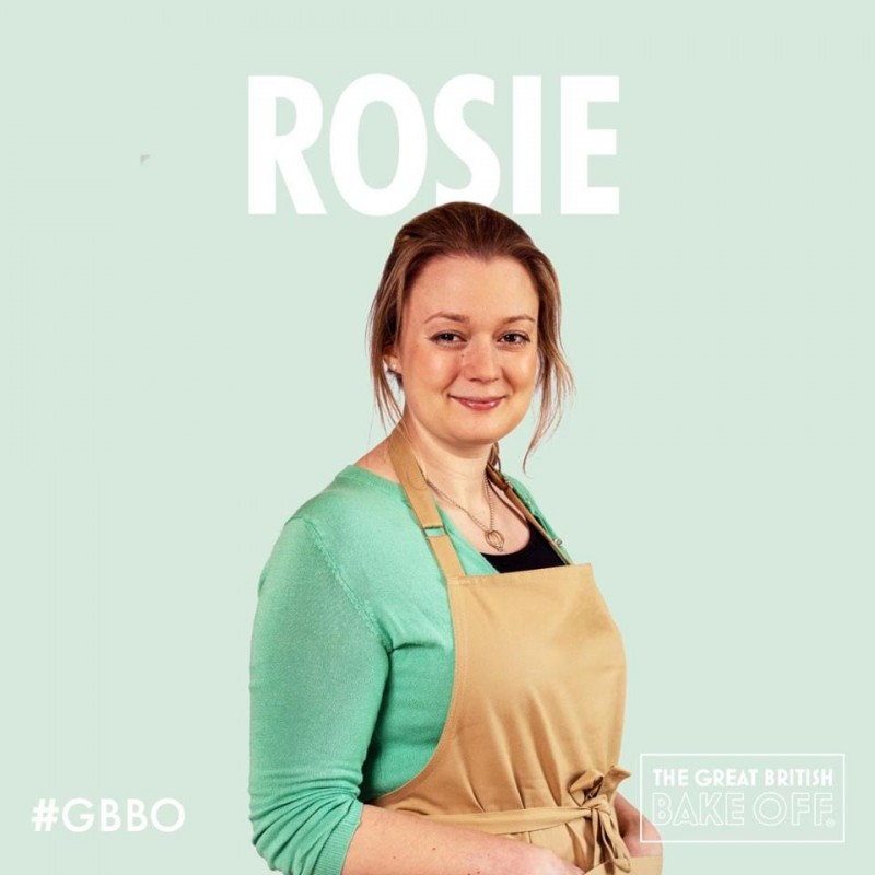 Our Rosie has made it on Bake Off!!
